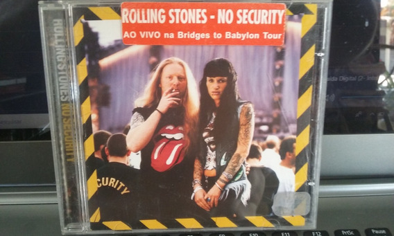 Cd Rolling Stones - No Security