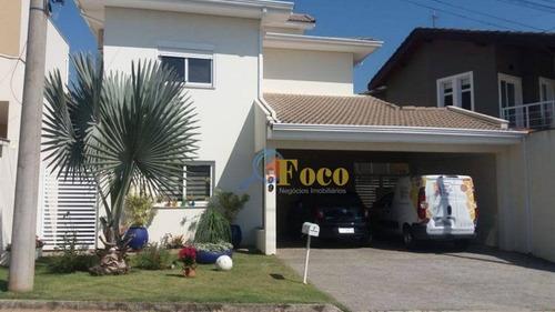 Casa Com 3 Dormitórios À Venda, 211 M² Por R$ 850.000,00 - Condomínio Itatiba Country Club - Itatiba/sp - Ca0996
