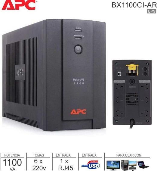 Ups 1100 Va Apc Bx1100ci-ar