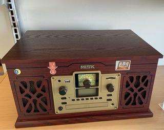 Bocina Sistema Nostálgico Bluetooth, Usb,cd,mp3,radio,caset