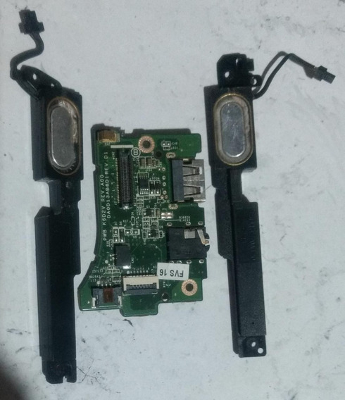 Somente Plaquinha De Audio\usb Dell Xps L321x