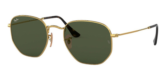 Oculos Rb Hexagonal Flat Lenses Rb3548n