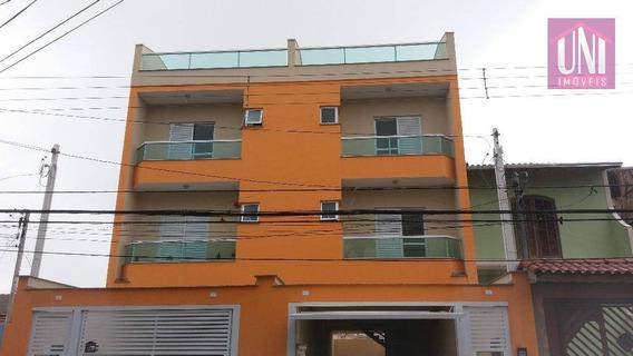 Cobertura Residencial À Venda, Vila Curuçá, Santo André. - Co0333