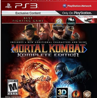 Mortal Kombat Komplete Edition - Usado