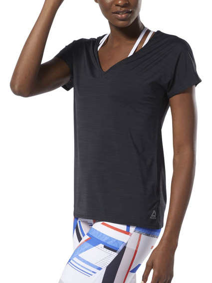 Remera Reebok Training One Series Active Chill Mujer Ngm