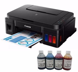 Impresora Canon Pixma G3100 Con Sistema + Tinta Alemana Ocp