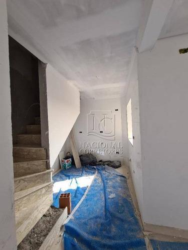 Cobertura Com 2 Dormitórios À Venda, 90 M² Por R$ 350.000,00 - Vila Alto De Santo André - Santo André/sp - Co4267
