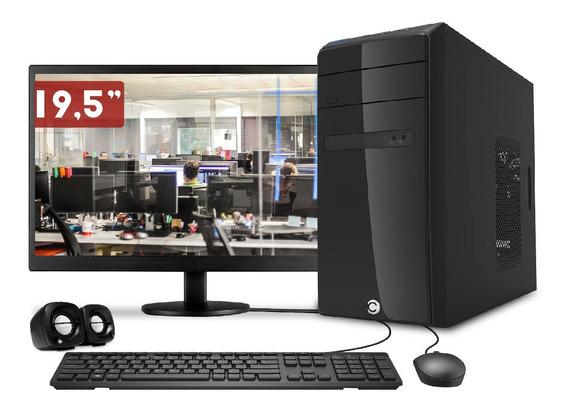Computador Pc Cpu Completo Intel Core I5 8gb 500gb Monitor