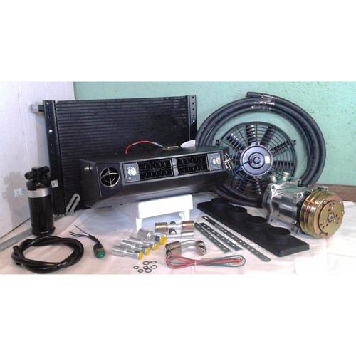 Imagem 1 de 9 de Kit Universal Ar Cond Adaptação D20 F1000 C10 Sem Suportes