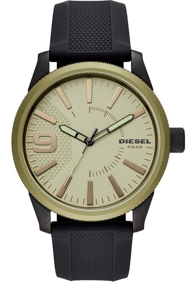 Relogio Masculino Diesel Rasp Bicolor Dz1875
