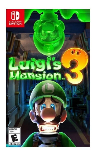 Imagen 1 de 3 de Luigi's Mansion 3 Standard Edition Nintendo Switch  Digital