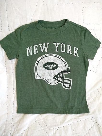Playera Niño New York Jets Original Nfl Talla Xs Oferta $99