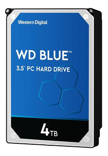 Disco Rigido Interno 4tb Western Digital Wd Blue Hdd Sata Pc