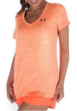 Camiseta Under Armour Tsh V-neck Feminino