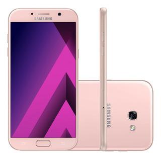 Samsung Galaxy A7 2017 A720f 32gb 4g Rosa Mancha
