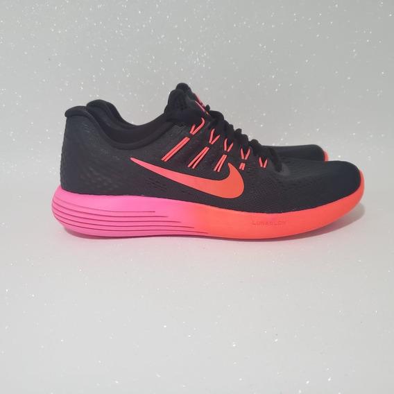 Nike Lunarglide 8 De Corrida Tênis Feminino Preto Original