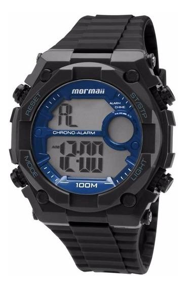 Relógio Mormaii Masculino Digital Moy1538/8a Azul Oferta