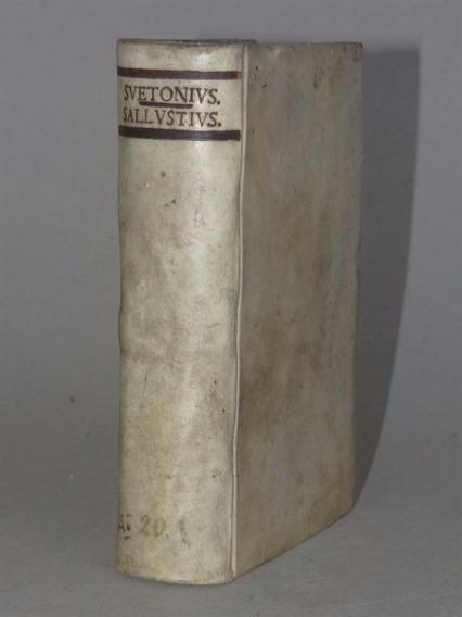 Suetônio Chrestomathia + Salústio 1762 E 1751 Belo E Raro