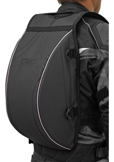 Mochila Aerodinamica Casc Moto Motociclista Porta Capacete G