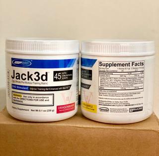 Jack 3d Importado Pré Treino Usp Labs 45 Doses - Envio Já