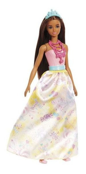Boneca Barbie Princesa Fxt13 Mattel - Rosa