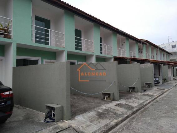 Sobrado Com 2 Dormitórios À Venda, 72 M² Por R$ 260.000 - Vila Taquari - São Paulo/sp - So0101