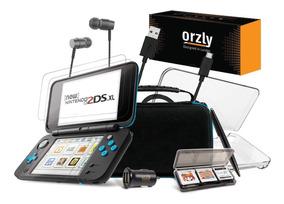 Kit Nintendo 2ds Xl Estuche Case Cargador Accesorios 2dsxl