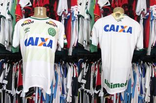 Chapecoense 2016 Camisa Reserva Tamanho G.