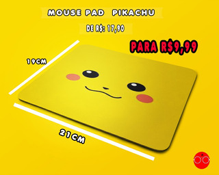 Mouse Pad Pikachu