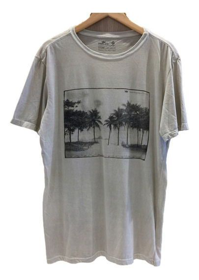 ( G ) Camiseta Osklen Stone Paisagem Palmeiras Uki