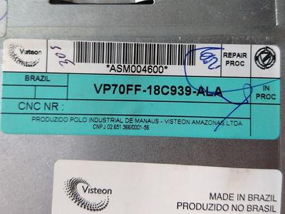 Código Rádio Fiat Visteon