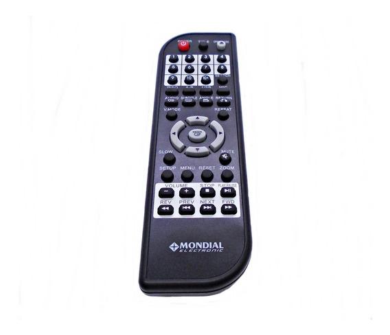 Controle Remoto Dvd Player Mondial D-03/d-05/ D-06 Original
