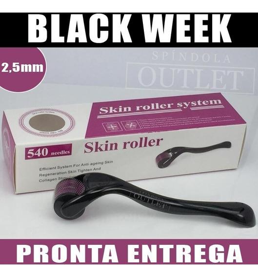 Dermaroller Skin Roller System 2,5mm 540 Agulhas - Original