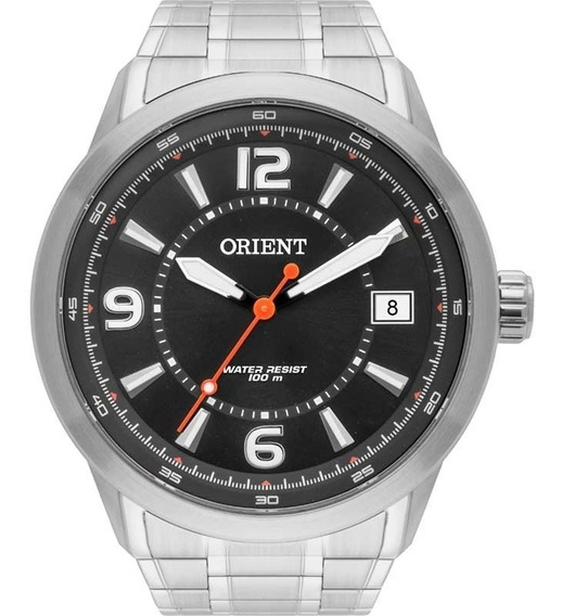 Relógio Orient Masculino Prata - Mbss1269 P2sx