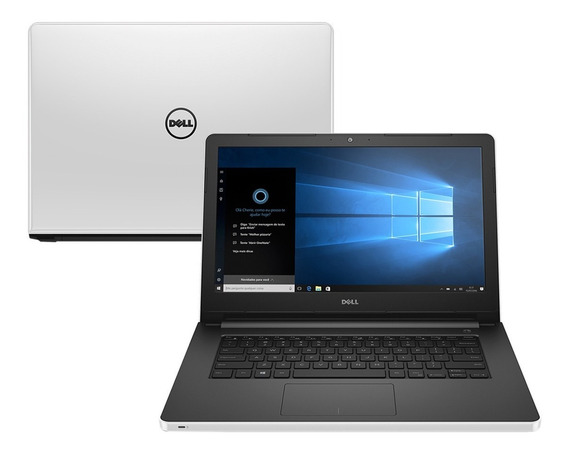 Notebook Dell Intel Core I3 4gb 1tb Windows 10 Tela 14
