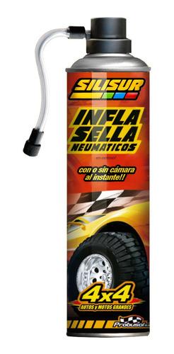 Silisur Infla Sella Neumáticos Max 450g Camionetas Suv Autos