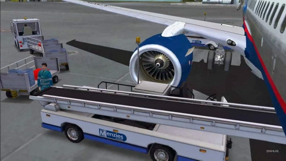 Serviço De Solo Para Flight Simulator X