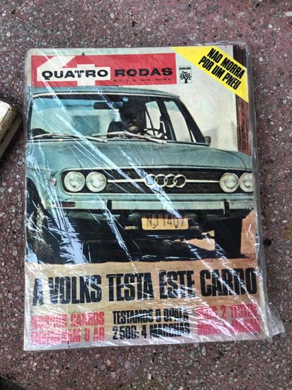 Quatro Rodas 129 Opala Audi Jaguar Maio 71 Menor Preço Do Ml