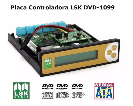 Placa Controladora Lsk 1099 Sata (sem Cabos) Para Gravador Dvd Blu-ray Cd