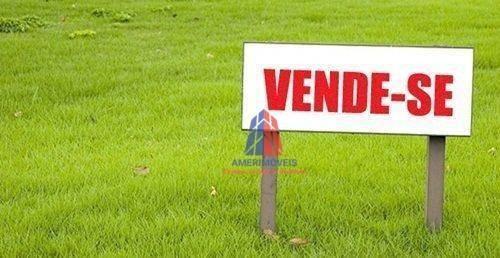 Terreno À Venda, 595 M² Por R$ 655.000,00 - Jardim Terramérica Ii - Americana/sp - Te0274