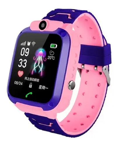 Relógio Inteligente- Smartwatch Infantil Com Gps P/proteção