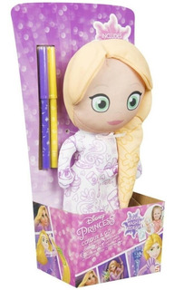 Peluche Princesas Disney Para Pintar Originales!!