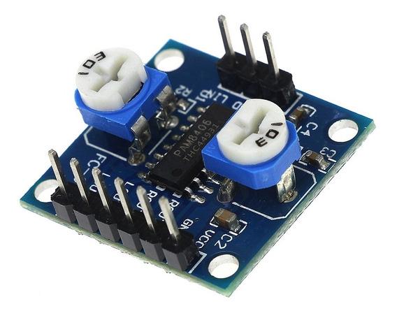 Módulo Amplificador De Audio Pam8406 2x 5w Stereo 5w + 5w