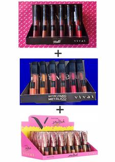 Kit 03 Box`s De Batons Vivai - Revenda