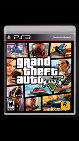 Gta 5 Midia Fisica Playstation 3