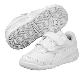 Tenis Kids Puma Stepfleex 2 Sl V 190115-01 Blanco Niño Pv