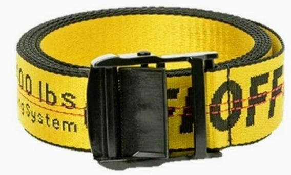 Cinturon Off White De 200cms