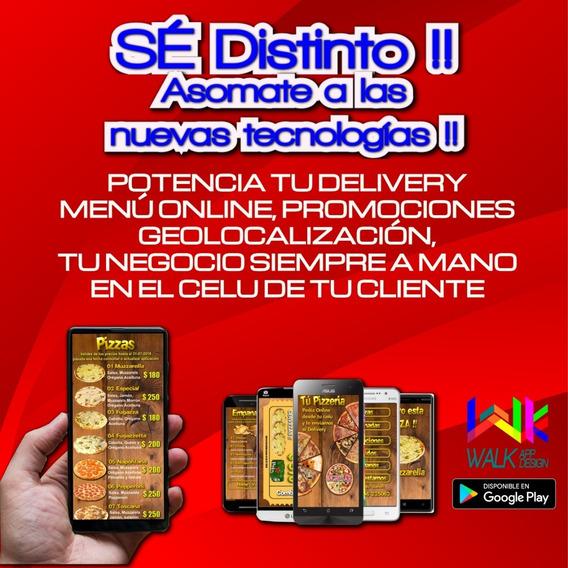 Aplicación Para Smartphone De Negocio Gastronómico Delivery