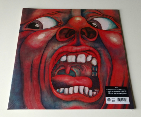 Lp King Crimson In The Court Of The Crimson 200g Red Lizard