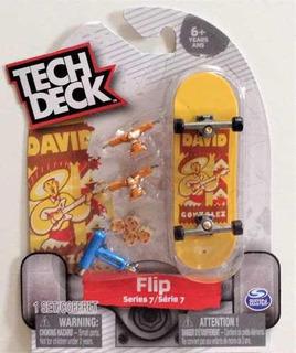Diapasón Tech Deck Flip Serie 7 David Gonzalez Sombrero Aaa